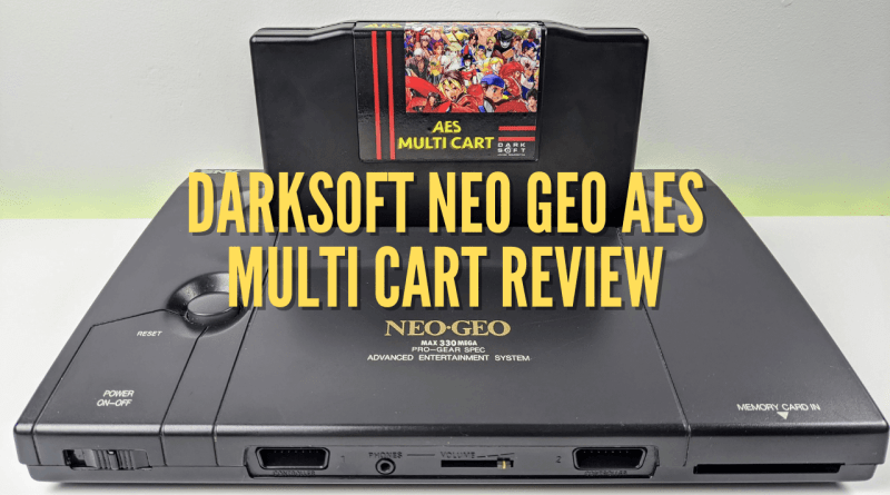 DARKSOFT NEO GEO AES MULTI CART REVIEW