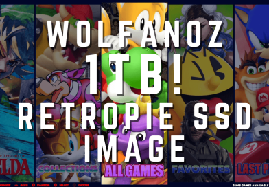 Wolfanoz 1TB RetroPie SSD Image for Raspberry Pi 4