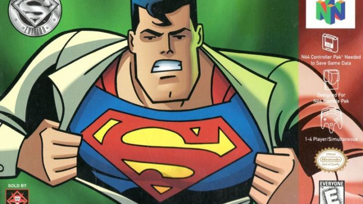 Today in Gaming History – Superman for the N64