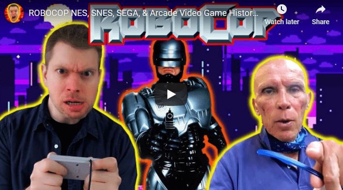 The IRATE Gamer: ROBOCOP Video Game History & Review with Peter Weller