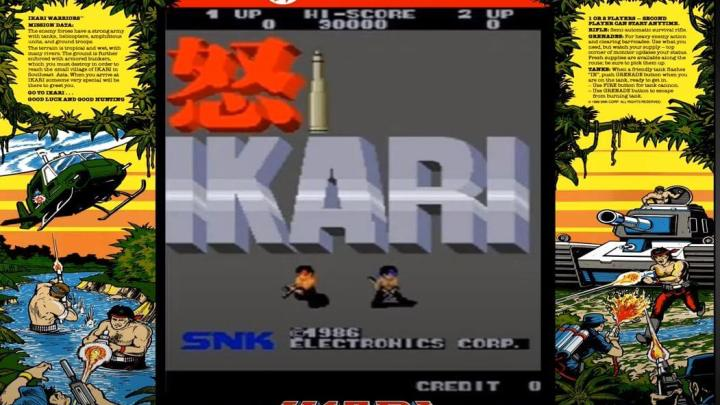 The History of the Ikari Warriors Trilogy – arcade console documentary