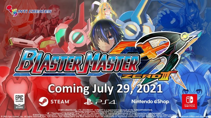 Blaster Master Zero 3 – Announcement Trailer