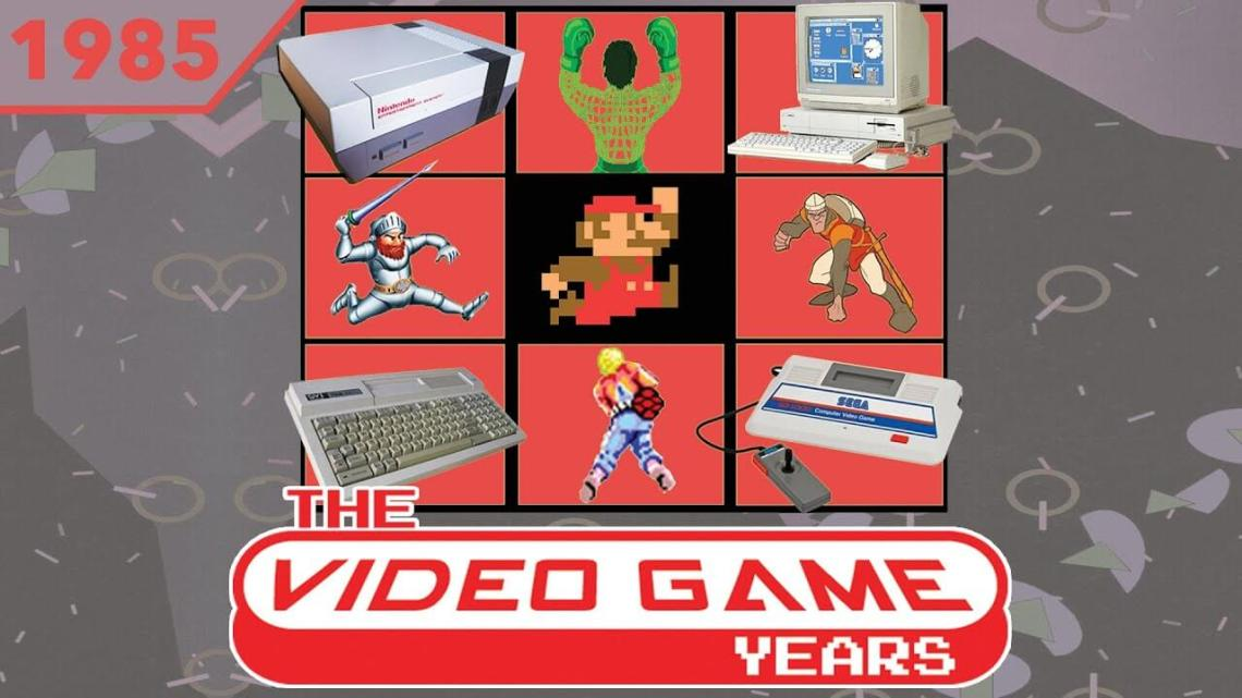The Video Game Years 1985 – Full Gaming History Documentary