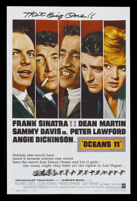 cult movie poster ocean s 11