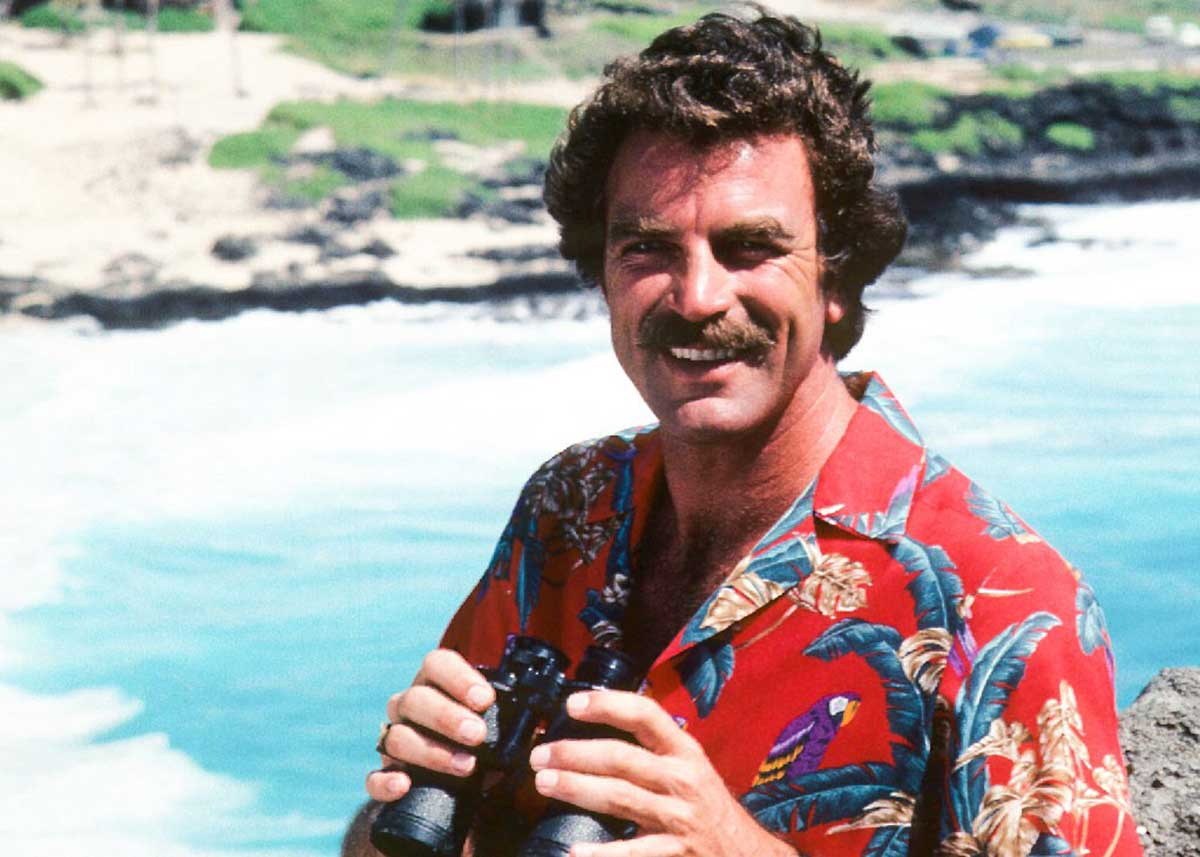 How to Dress Like Magnum PI