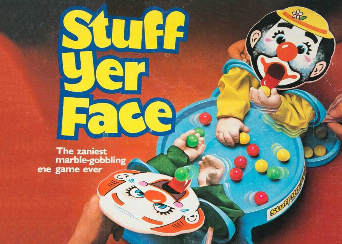 Stuff Yer Face – The Marble Eating Clown Game