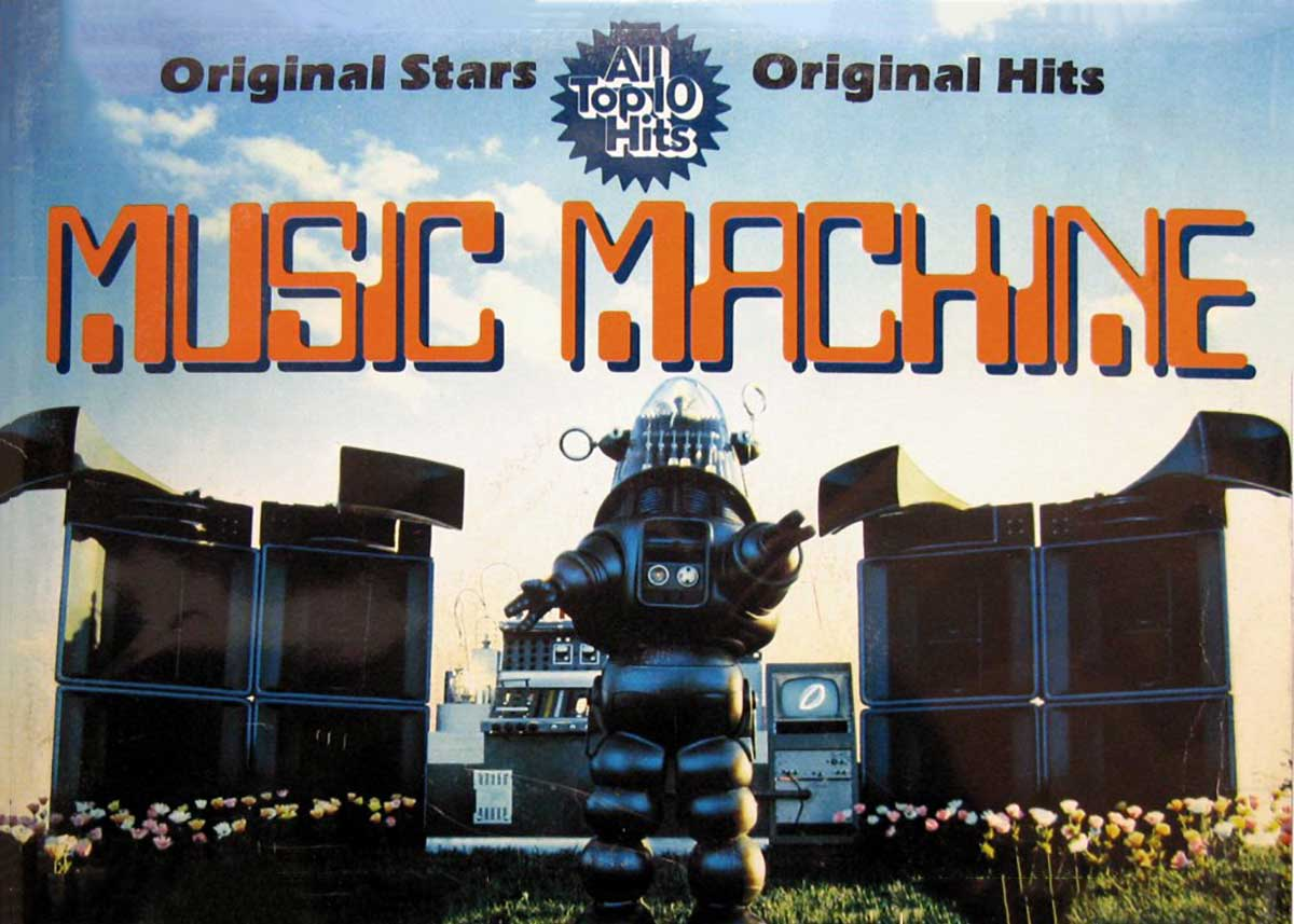 It's the K-Tel Records' Music Machine with Robby the Robot!