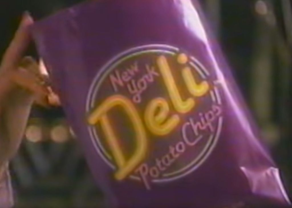 New York Deli Potato Chips were my Purple Passion