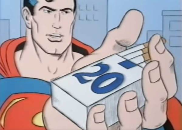 Superman Anti-Smoking PSA