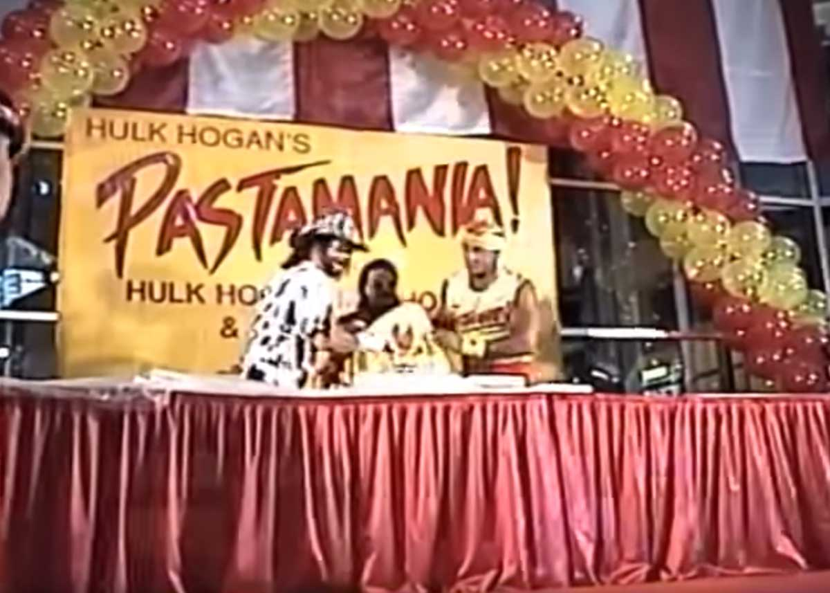 The Opening of Hulk Hogan's Pastamania Restaurant at the Mall of America (1995)