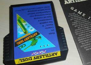 Artillery Duel for the Atari 2600