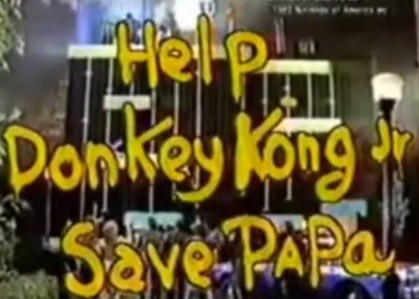 Live-Action Donkey Kong Jr. Commercial