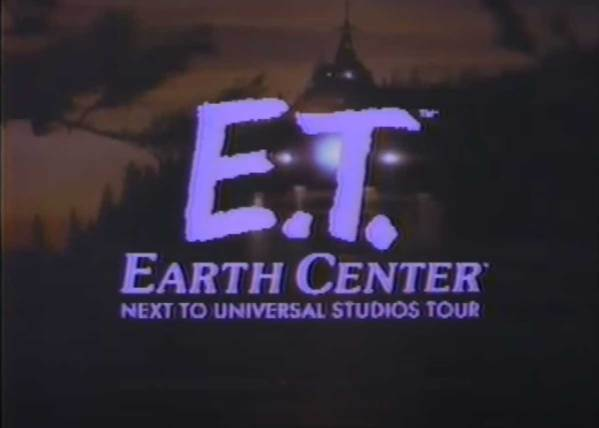 In 1982 you could get all the best E.T. Merchandise at the E.T. Earth Center