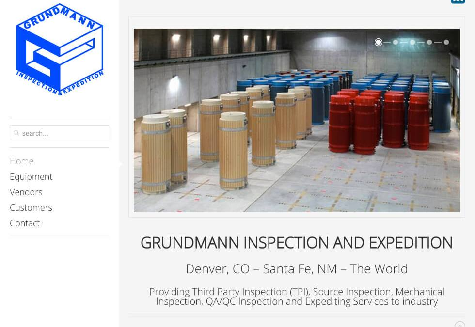 Jeff Daniel Grundmann –  Grundmann Inspections and Expedition