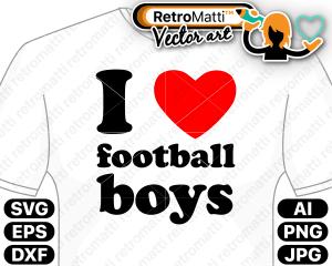 retromatti w part football boys