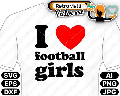retromatti w part football girls