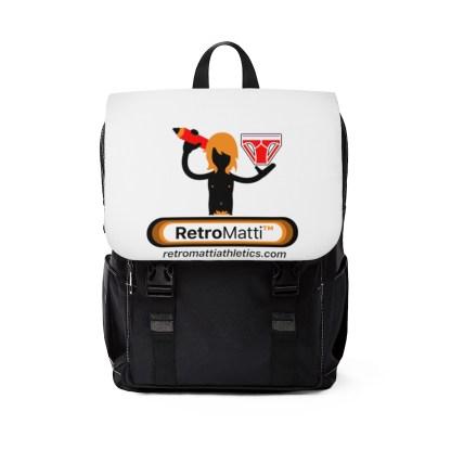 RetroMatti Athletics Unisex Casual Shoulder Backpack