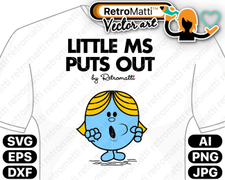 retromatti w part  little ms puts out