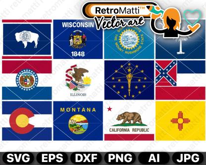 retromatti w part state flags