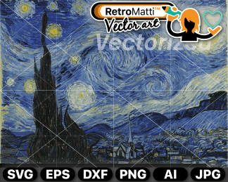 retromatti w part van gogh