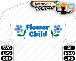 retromatti w part flower child