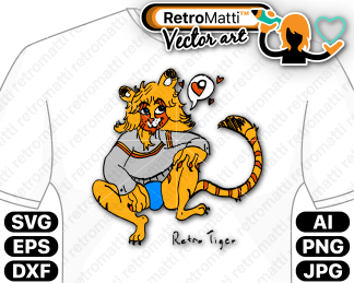 retromatti w part retro tiger