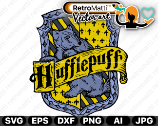 retromatti w parta harry potter hufflepuff