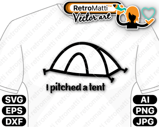 retromatti w part I pitched a tent