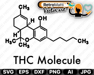 retromatti w part thc molecule