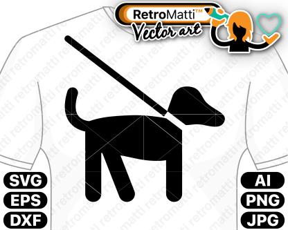 retromatti w part dog pictogram