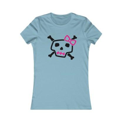 PunkPinkCandySkullWomen&#;sShirt