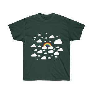 Rainbow and Clouds Shirt