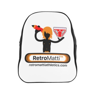 RetroMatti Athletics School Backpack