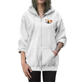 RetroMatti Artist Guy Unisex Zip Up Hoodie