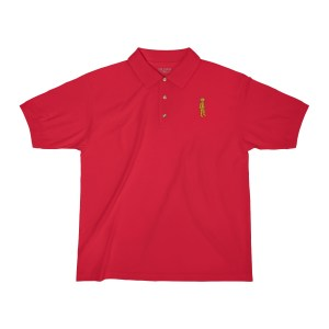 Retromatti Golden Boy Embroidered Polo