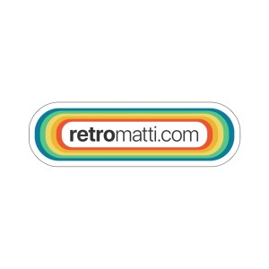 Retromatti.com Stickers