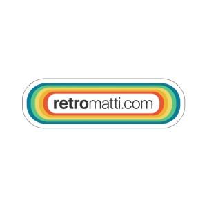 Retromatti.com Stickers
