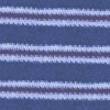 Blue Brown Stripes with Gray