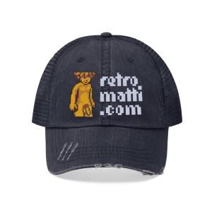 Retromatti Golden Boy Trucker Hat