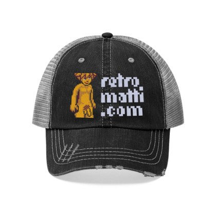 Retromatti Golden Boy Trucker Hat