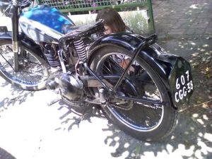 BSA 1950 250cc C11