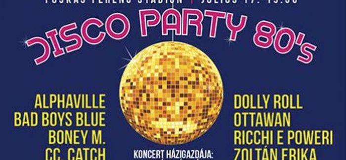 Disco Party 80 a Népstadionban világsztárokkal