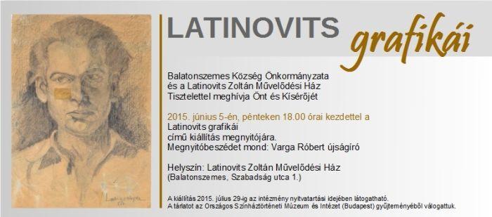 Latinovits Zoltán rajzaiból nyílik kiállítás