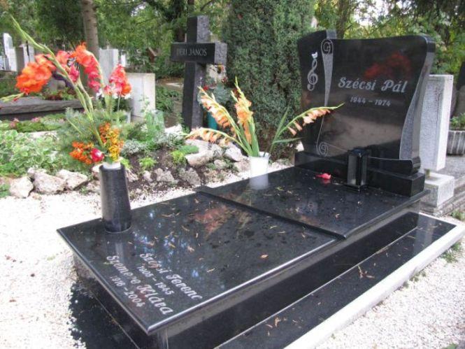 Így néz ki Szécsi Pál síremléke