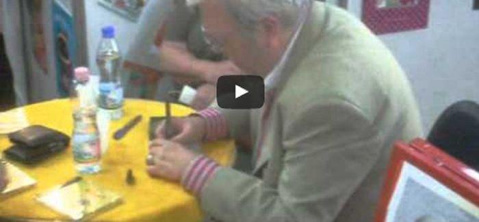 Gálvölgyi János dedikál – videó