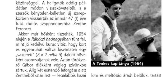 Zenthe Ferenc – Már életében halhatatlanná vált