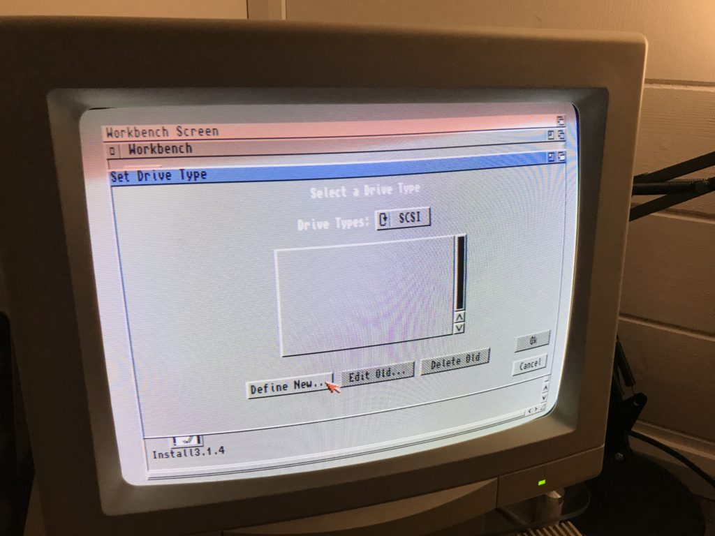 AmigaOS 3.1.4 install