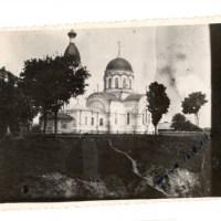 Храм святителя Николая Чудотворца, Петриков, 1949 год (22retro)