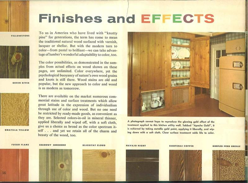 101 Design Ideas To Decorate Knotty Pine 24 Page Catalog From