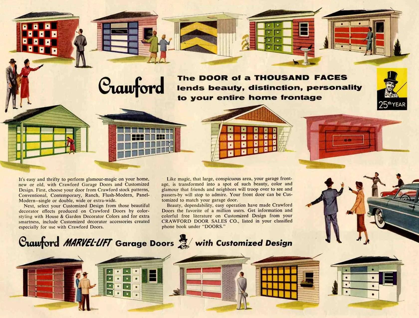 50s paint colors Archives - Retro Renovation on Garage Door Colors  id=16161